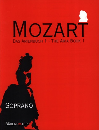 Wolfgang Amadeus Mozart: The Aria Book Vol. 1 – Soprano
