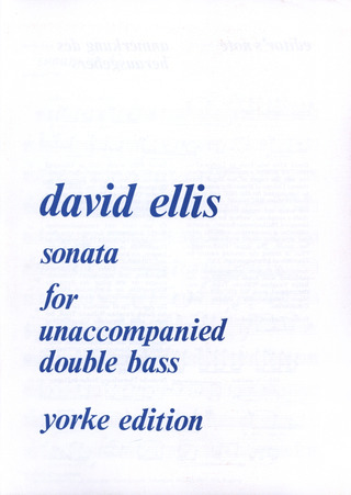 David Ellis: Sonata op. 42