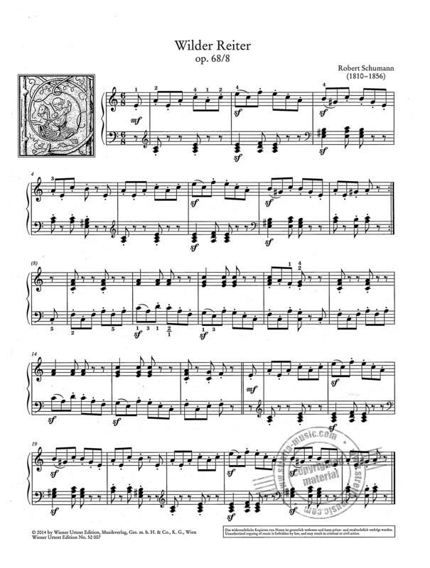 Robert Schumann et al.: Easy Piano Pieces with Practising Tips 4 (1)