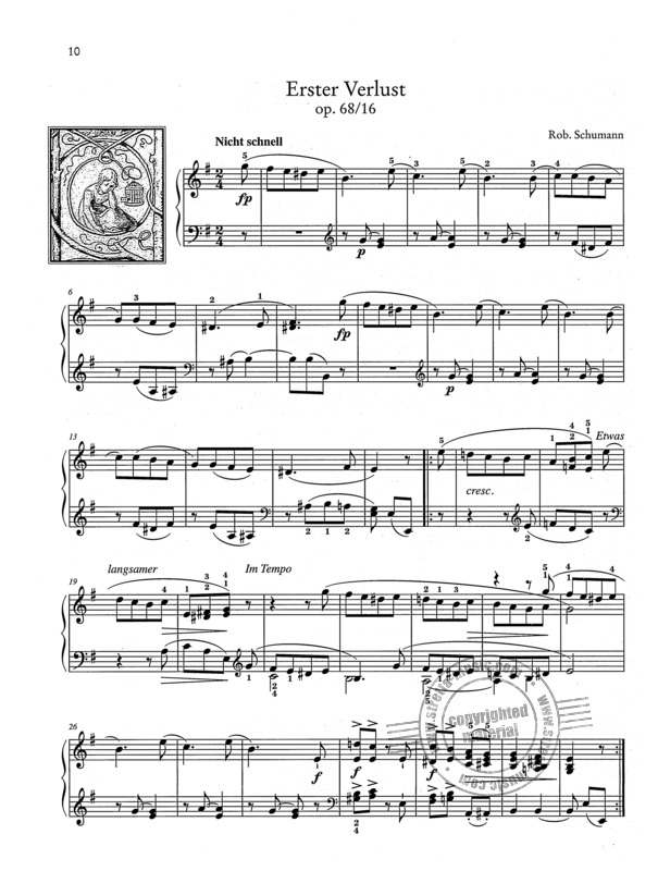Robert Schumann et al.: Easy Piano Pieces with Practising Tips 4 (2)