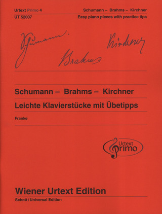 Robert Schumann et al.: Easy Piano Pieces with Practising Tips 4