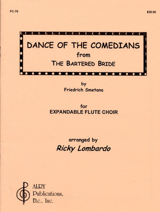 Smetana, Friedrich: Dance of the comedians