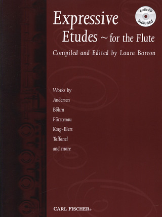 Barron Laura: Expressive Etudes For The Flute