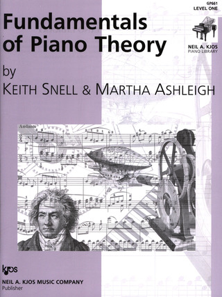 Keith Porter-Snell: Fundamentals Of Piano Theory