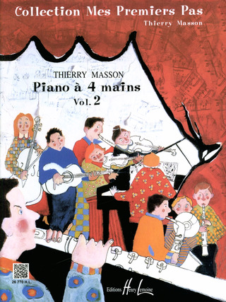 Thierry Masson: Piano à quatre mains vol.2