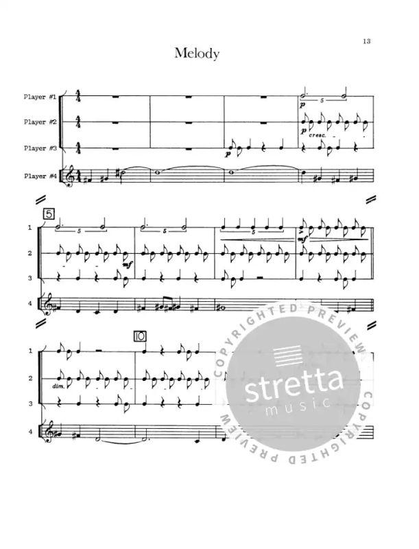 Living Room Music Fur Schlagzeug U Sprech Quart From John Cage