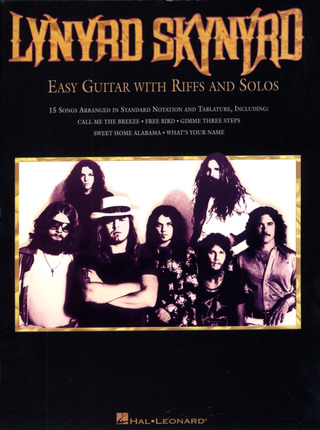 Lynyrd Skynyrd: Easy Guitar with Riffs and Solos