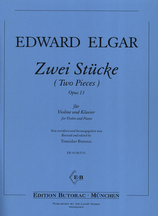Edward Elgar: Two Pieces op. 13