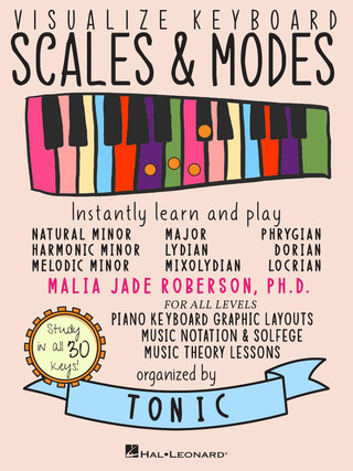 Malia Jade Roberson: Visualize Keyboard Scales & Modes