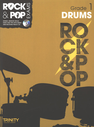 Rock & Pop Exams: Drums Grade 1