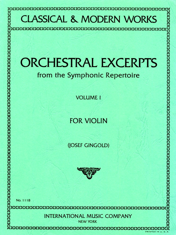Orchestral Excerpts 1