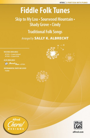 Sally K. Albrecht: Fiddle Fold Tunes