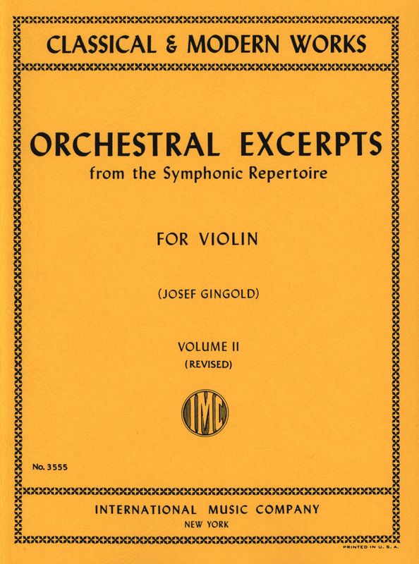 Orchestral Excerpts 2