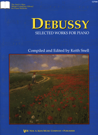Claude Debussy: Selected Works for piano