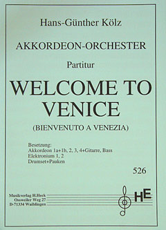 Hans-Günther Kölz: Welcome To Venice