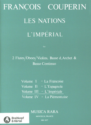 "François Couperin: Les Nations Nr. III ""L'Imperial"""