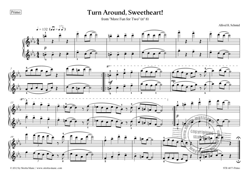 Alfred R. Schmid: Turn Around, Sweetheart! (1)