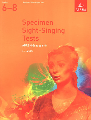 Specimen Sight Singing Tests Grade 6-8 2009