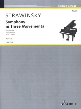 Igor Strawinsky: Symphony in Three Movements