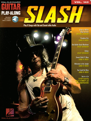 Slash: Guitar Play-Along Volume 143: Slash (Book/Online Audio)