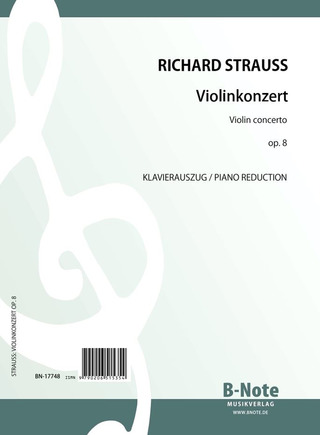 Richard Strauss: Violin Concerto op. 8