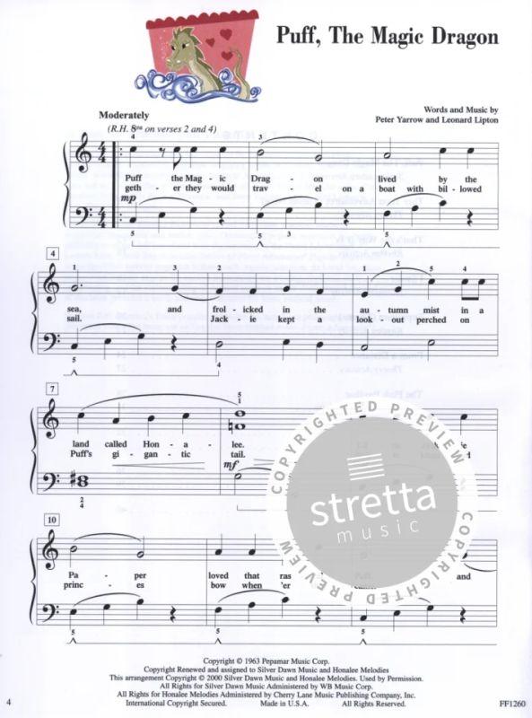 Popular Repertoire Level 3A Piano Adventures