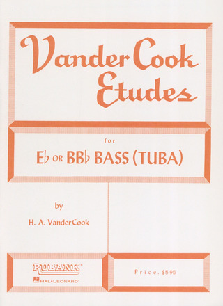 Vandercook H. A.: Etudes For Es Or B Bass Tuba