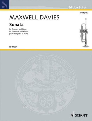 Peter Maxwell Davies: Sonata for Trumpet in D and Piano (1955)