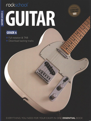 Rockschool Guitar - Grade 6 (2012-2018)