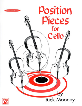 Rick Mooney: Position Pieces for Cello 1