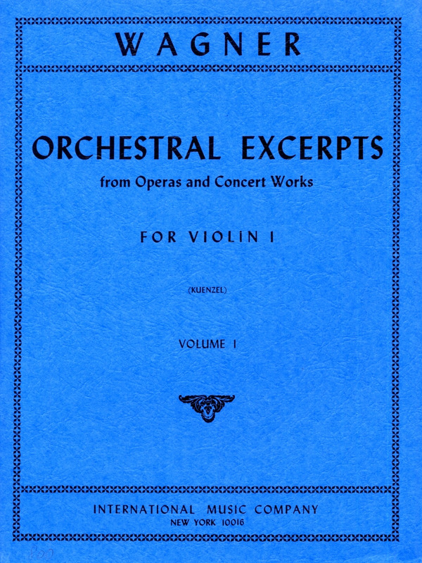 Richard Wagner: Orchestral Excerpts 1