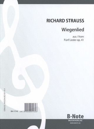 Richard Strauss: Wiegenlied