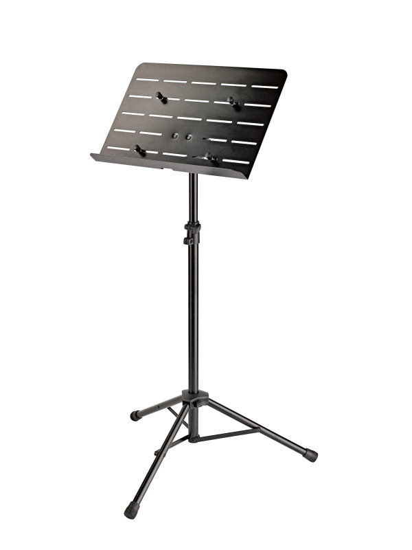 Orchestra music stand with tablet holder 11965