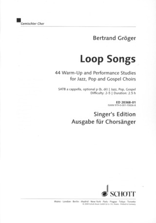 Gröger, Bertrand: Loop Songs
