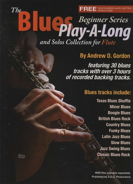 The Blues Play-A-Long And Solos Collection For Flute (Book/Online Audio)