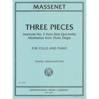 Jules Massenet: Three Pieces
