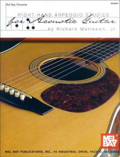 Matteson Richard: Right Hand Arpeggio Studies For Acoustic Guitar