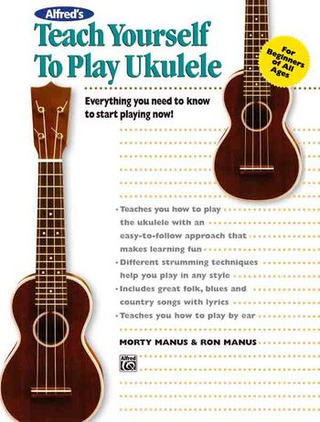 Manus Ron + Morty: Teach Yourself To Play Ukulele
