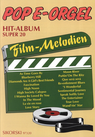 Pop E-Orgel Hit-Album Super 20: Filmmelodien