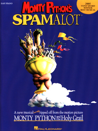 Python Monty: Monty Python's Spamalot (Easy Piano/Vocal) Pf Book
