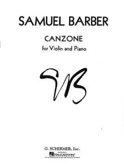 Samuel Barber: Canzone