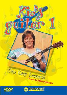 Marxer Marcy: Kids Guitar 1 (Marxer) Ten Easy Lessons Dvd