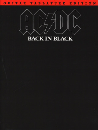 AC/DC: Ac/Dc Back In Black Guitar Tablature Edition