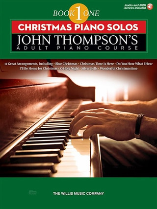 John Thompson's Adult Piano Course 1 - Christmas Piano Solos