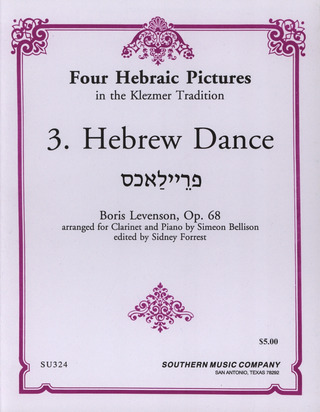Levenson B.: Hebrew Dance 3 Aus 4 Hebraic Pictures