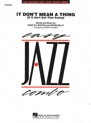 Duke Ellington et al.: It Don't Mean A Thing (If It Ain't Got That Swing)