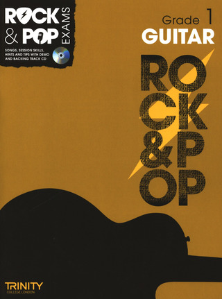 Rock & Pop Exams: Guitar Grade 1