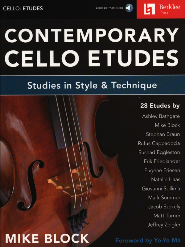 Mike Block: Contemporary Cello Etudes