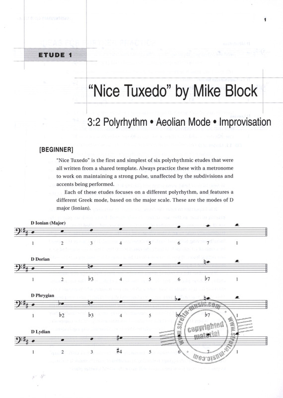 Mike Block: Contemporary Cello Etudes (1)