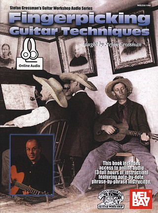 Stefan Grossman: Fingerpicking Guitar Techniques